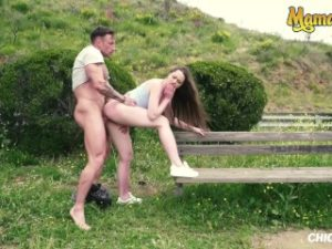 MamacitaZ – Horny Russian Teen Fucked In Public While In South America