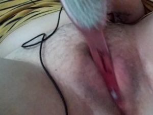 Little bit masturbating