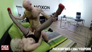 FuckOF – The Boss Shoots his Load into Barb from Accounting