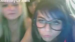 Hot lesbians naked on webcam