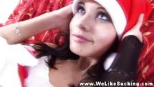 Hottest brunette teen girlfriend