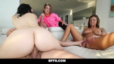 Upset Father Fucks Babysitter Club