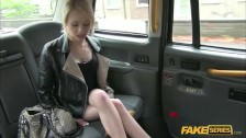 April takes a free dick ride on a taxi