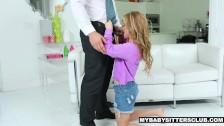 MyBabySittersClub – Teen Babysitter Banged By Pervert Boss