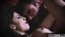 PURE TABOO Kristen Scott Blackmails Teacher and his Teen Lover