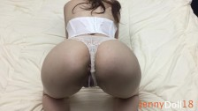 Fuck Until Brother Cum Inside Me – White Panties Pov – Creampie