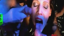 Cum covered faces compilation – German Goo Girls