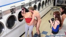 American group sex party Laundry Day