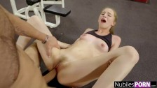 Cute Nympho Begs For Cock At The Gym! – Gym Selfie S16:E10