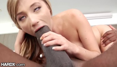 HardX Oh My Goodness! Petite Teen Is Down w/ Mandingo's BBC