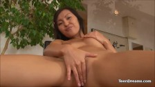 Naughty Asian Teen Finger Her Tight Pussy