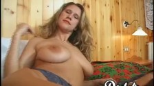 DP fucked busty vixen handles two dicks at the same time