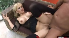 PAWG Britney holes stretched by two dudes