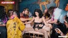 LETSDOEIT – 20 Year Old Slut Gets Bondage Sex At Party