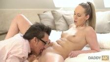 DADDY4K. Sex with son's classy GF drives dirty father to nice orgasm