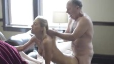 Sucking and fuck old guy